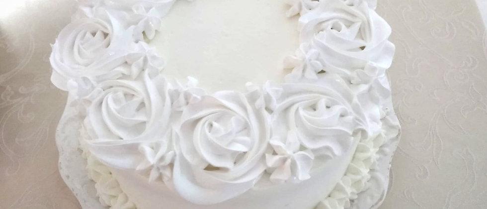 עוגת קצפת וריבה