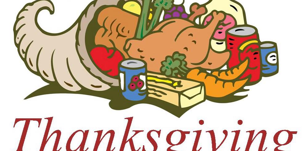 Thanksgiving Baskets Food Drive