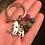 Thumbnail: Handmade Akita Keychain