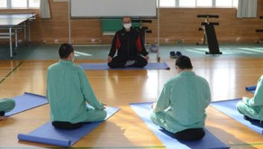 Japanese prison launches 'mindfulness' meditation to calm inmates