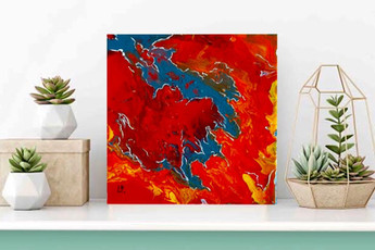 The Art of paint pouring 01 - 55€