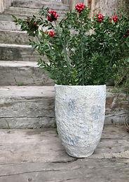 Eskitme Görünümlü Vazo
