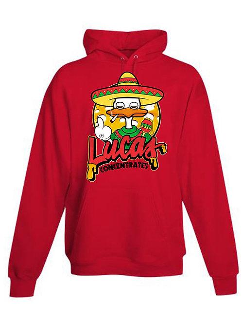 Men's Red Sombrero Hoodie