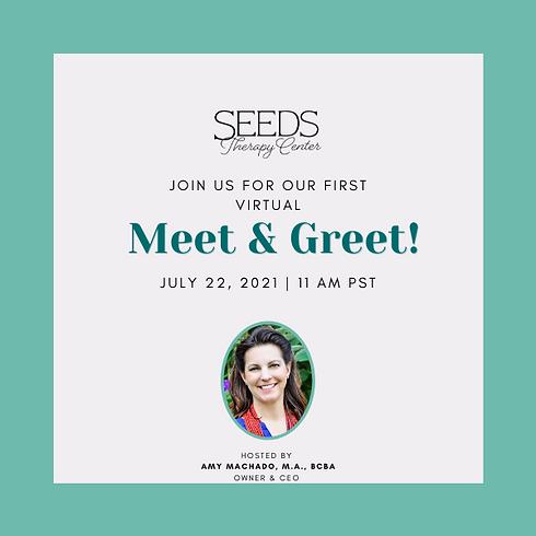 SEEDS Therapy Center Meet & Greet!