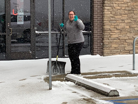 It's snowing! Checkout Restoration Chiropractic's tips for snow removal!