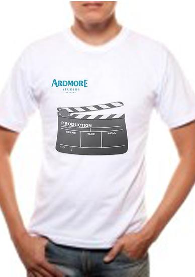 Ardmore Studios clapper board t-shirt