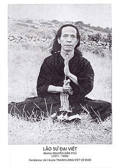 Nguyen Dan Phu - Maitre fondateur de l'ecole Thanh Long