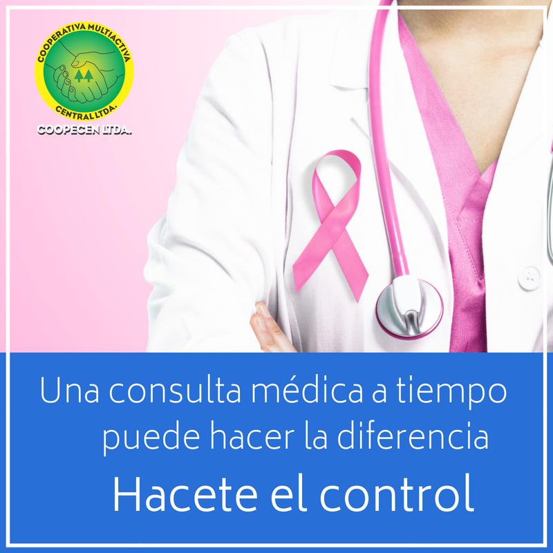 Coopecen Ltda. apoya la lucha contra el cáncer de seno.