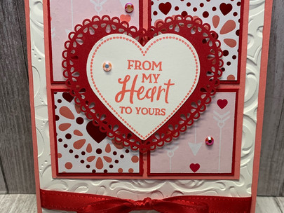 Card:  From My Heart