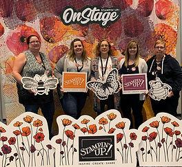 Shut Up & Stamp Team photo at OnStage