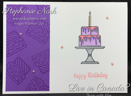 Stampin' is a Piece of Cake