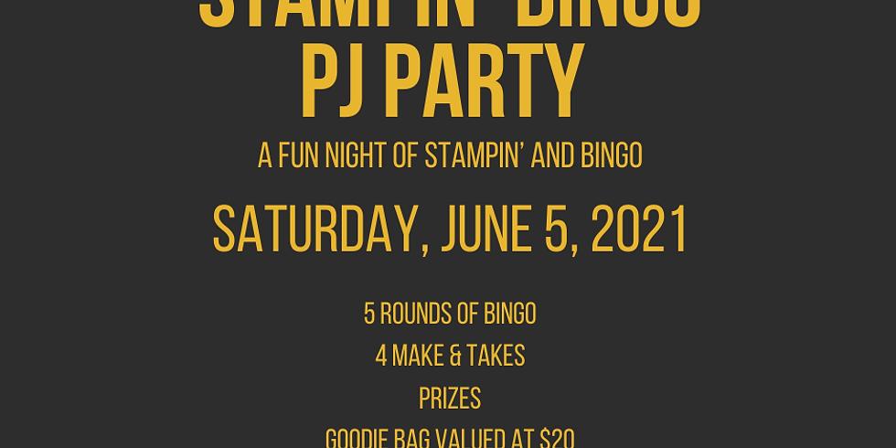 Stampin' BINGO PJ Party
