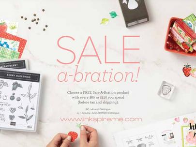 Celebrate with Sale-a-Bration