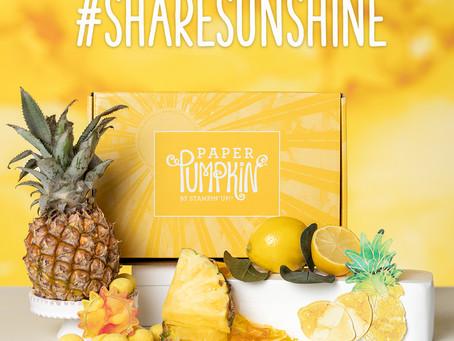 Paper Pumpkin June 2020:  Box of Sunshine