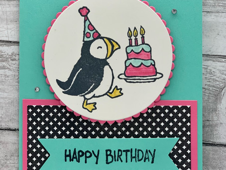 Birthday Party Puffins