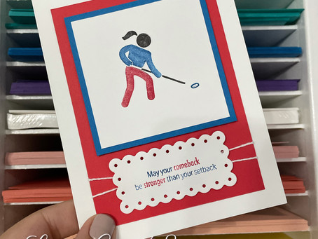Get Well Ringette Card