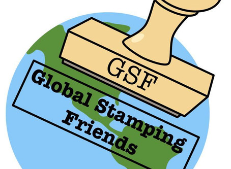 Global Stamping Friends Blog Hop:  Stitched