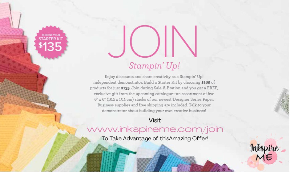 InkspireMe, Join my team, stampin up Hamilton ontario