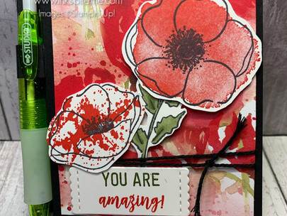 Peaceful Poppies Post-Its