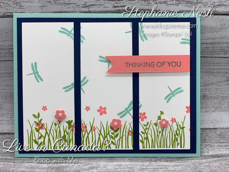 Field of Flowers Panel Card