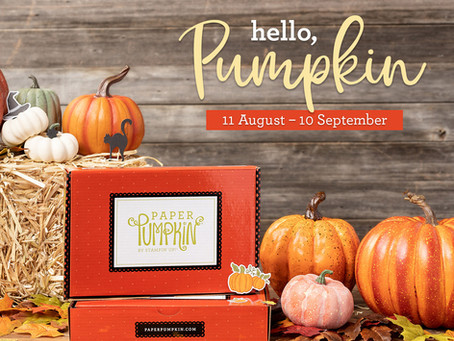 Paper Pumpkin Preview - Hello Pumpkin