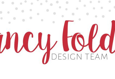 Fancy Fold Design Team Blog Hop - Window Accordion Easel Card