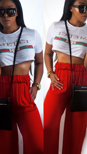 Merci Top- Top Shop Pants Zara (circa 2013/14) Purse/watch Michael Kors Sunglasses QuayAustralia