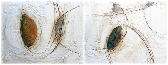 Tracy Felix_Remnants 1and2 Diptych_Encaustic and Resin_11x28_$995.jpg