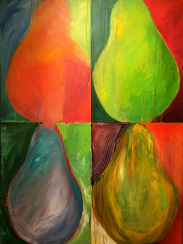 Color Theory Pear Shapes