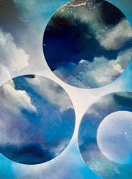 Melda's Sky Painting