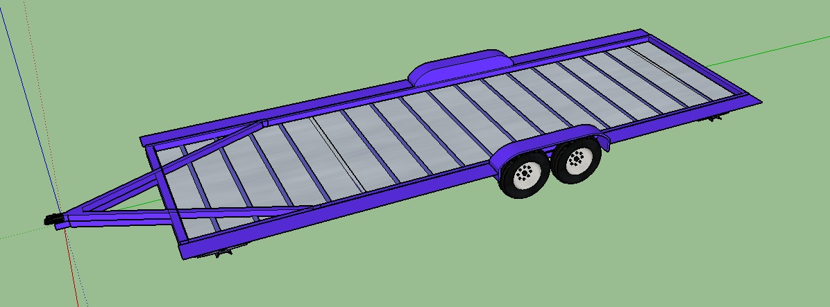 Geaux Tiny Trailer Frame