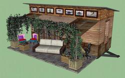 Updated rendering, actual materials