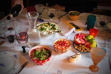 Dîner persan pour un banquet philosophique avec Maxime Rovere