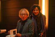 Le philosophe Pascal Bruckner, de l'Académie Goncourt, avec Sara Yalda