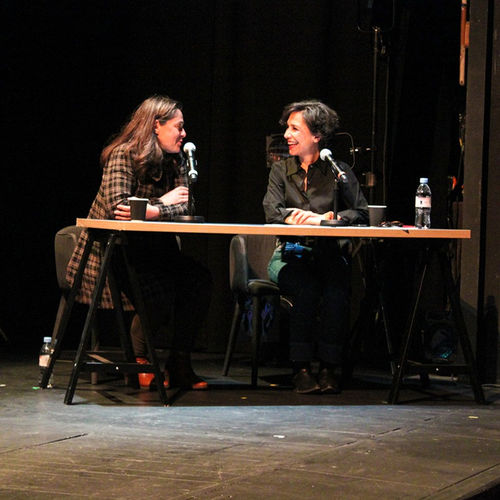 Perrine Hervé-Gruyer, fondatrice de la Ferme en permaculture du Bec Hellouin en discussion avec Sara Yalda