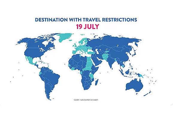 Ngành du lịch tái khởi động: 40% các điểm đến du lịch đã nới lỏng các hạn chế du lịch