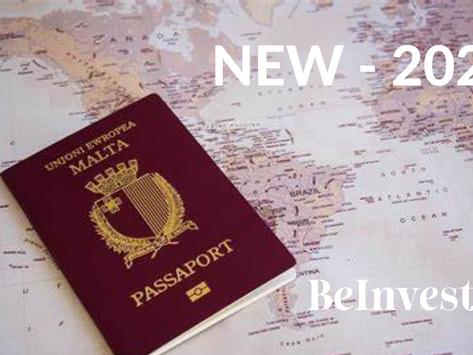 Chương trình đầu tư Quốc tịch Malta Mới 2020