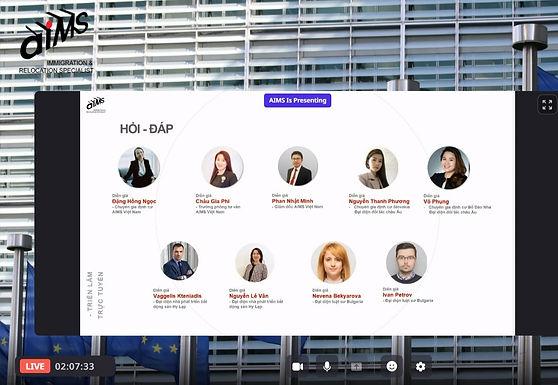 Định cư Hy Lạp thu hút nhà đầu tư tại Triển lãm Đầu tư định cư Châu Âu của AIMS tổ chức tuần qua.