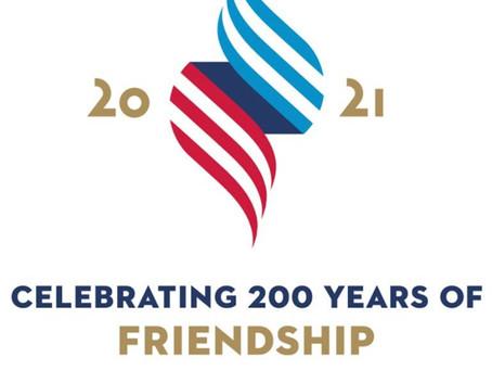 Hoa Kỳ và Hy Lạp tổ chức kỷ niệm 200 năm quan hệ hữu nghị mật thiết