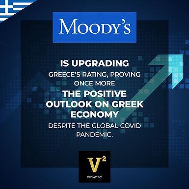 Hy Lạp tăng bậc trên bảng xếp hạng tín dụng của Moody's