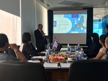 A seminar on Investment and Greece Permanent Residency by Holborn Assets Vietnam and V² Development