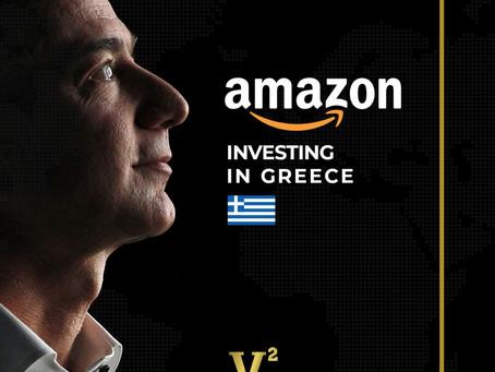 Amazon công bố đầu tư vào Hy Lạp