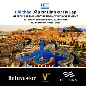 Holborn Assets tổ chức hội thảo Đầu tư Định cư Hy Lạp