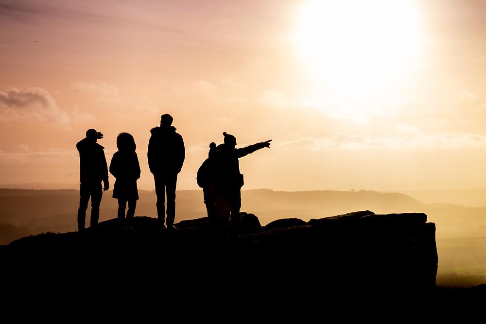 FujiXplorer Curbar Edge silhouette