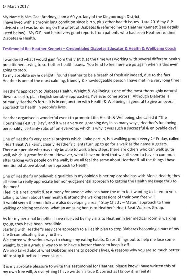 Heather Kennett Testimonial 3