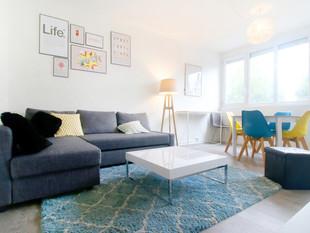 Un appartement transformé pour une colocation