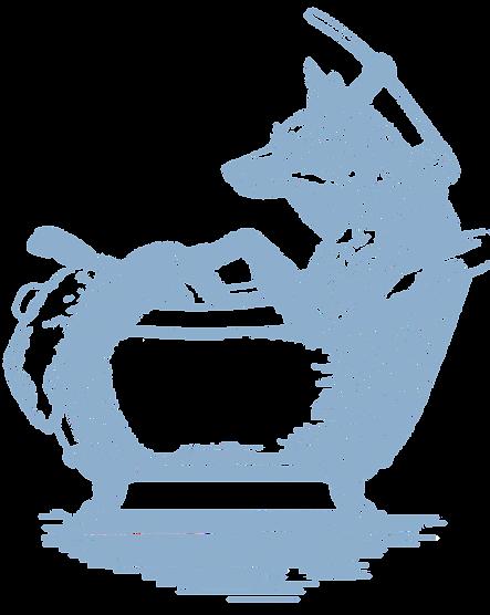 Pa'lais - Fox taking a bath
