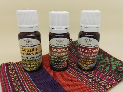 Andiroba 100% Pure Huile Artisanale Compte-Goutte de 10ml et 30ml