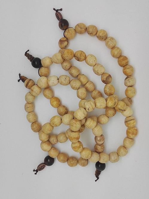 Bracelet SUR MESURE avec INTENTION 100% Palo Santo Sacré