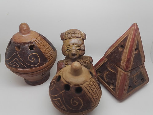 Trio Brûleurs Inca Marrons
